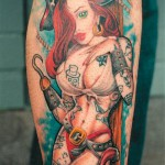 pin-up-pirate-design-of-tattoo