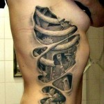 Ribbs Tattoo Real
